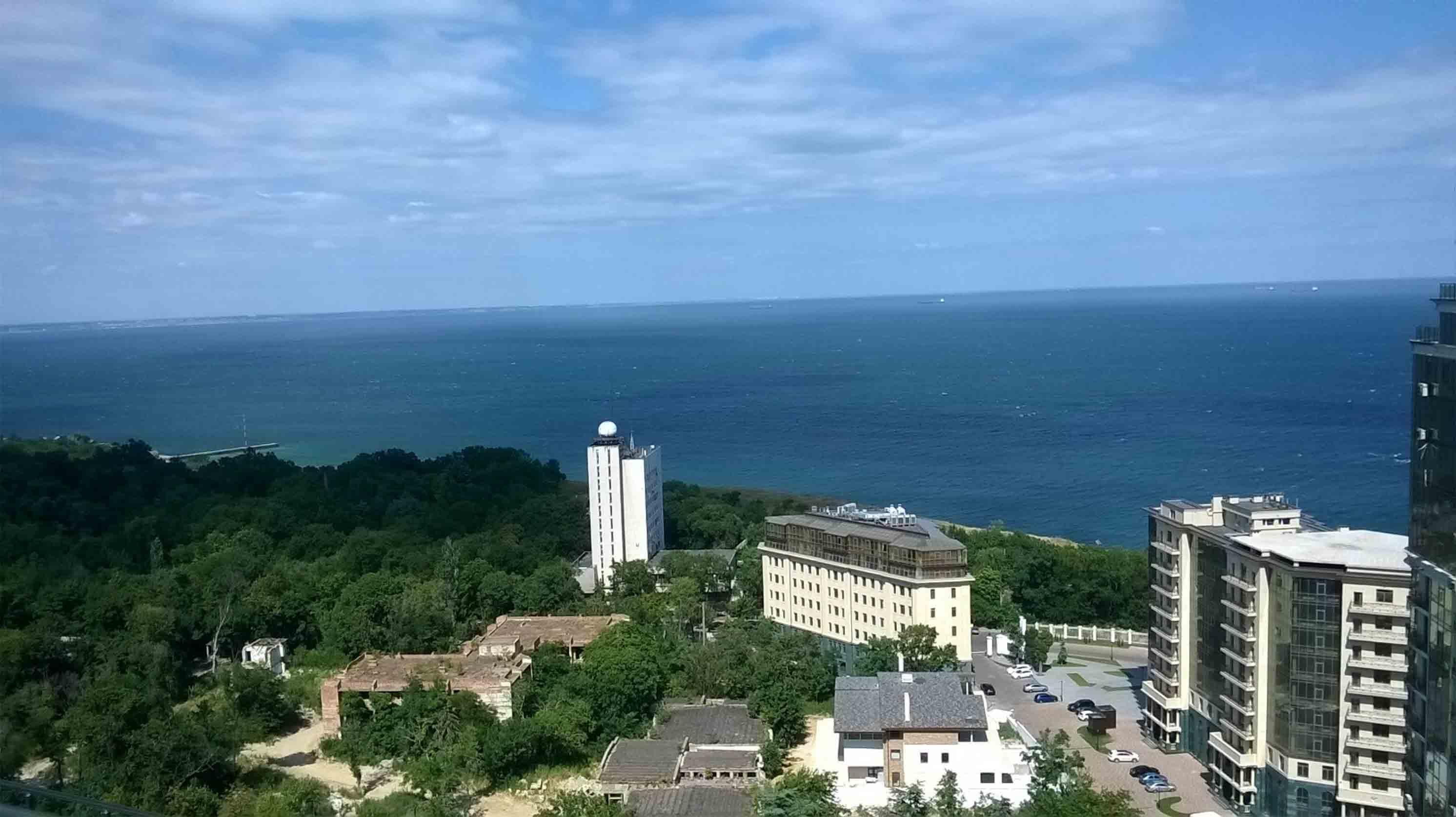 Шикарная квартира с панорамным видом на море. Одесса фото 4