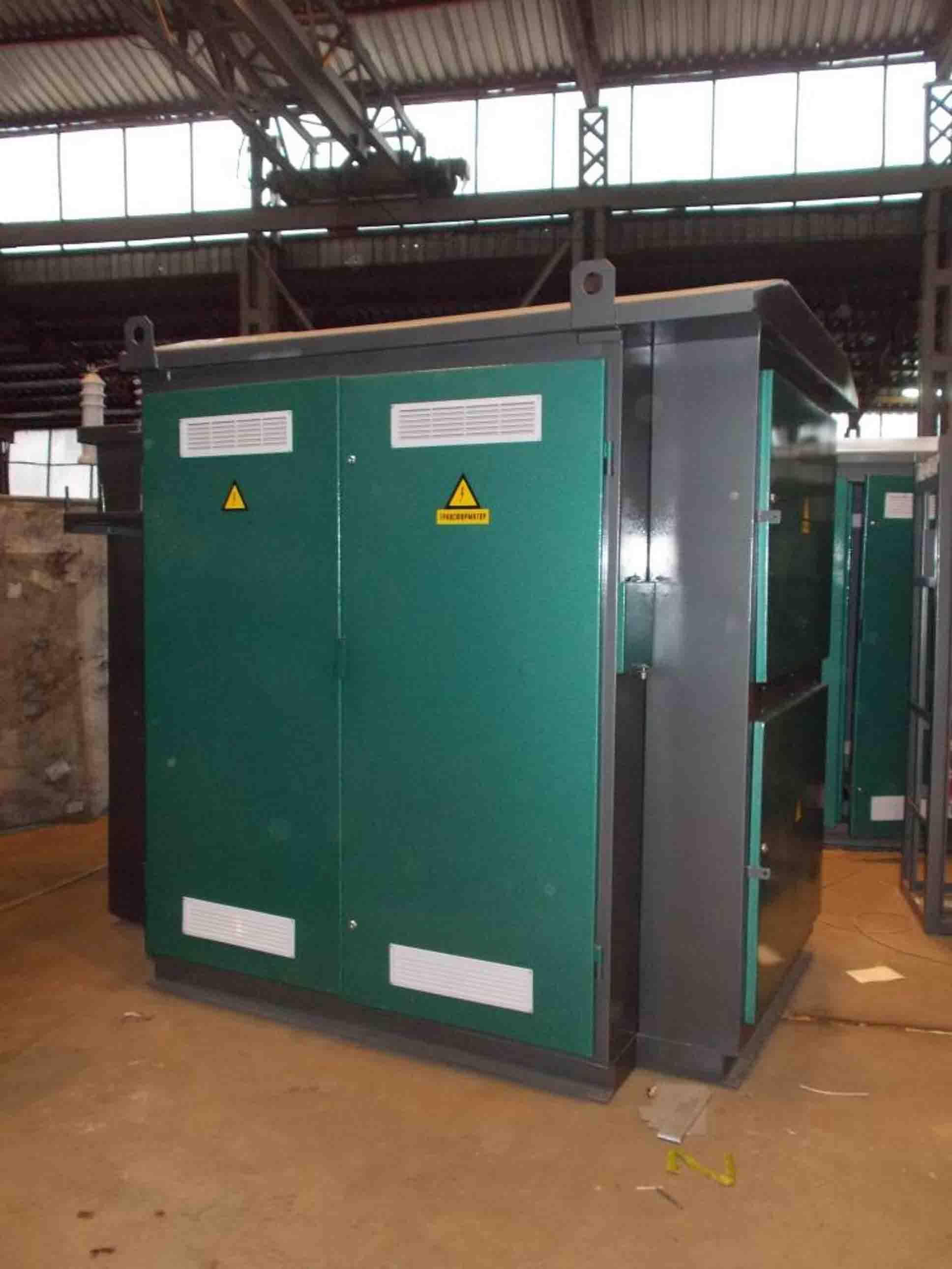Комплектні трансформаторні підстанції  КТПт 25-630/10(6)/0,4 кВА фото 1