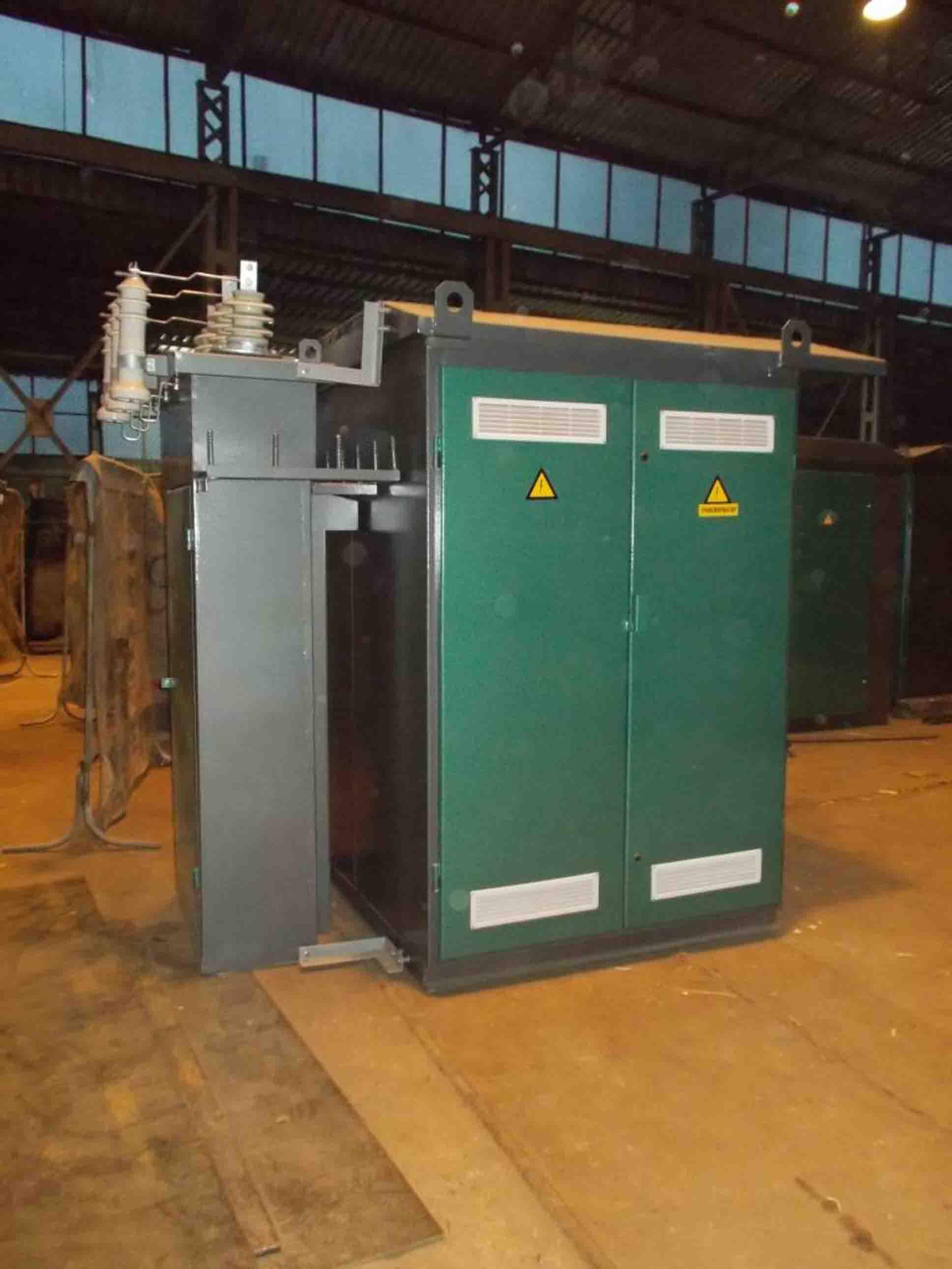 Комплектні трансформаторні підстанції  КТПт 25-630/10(6)/0,4 кВА фото 3