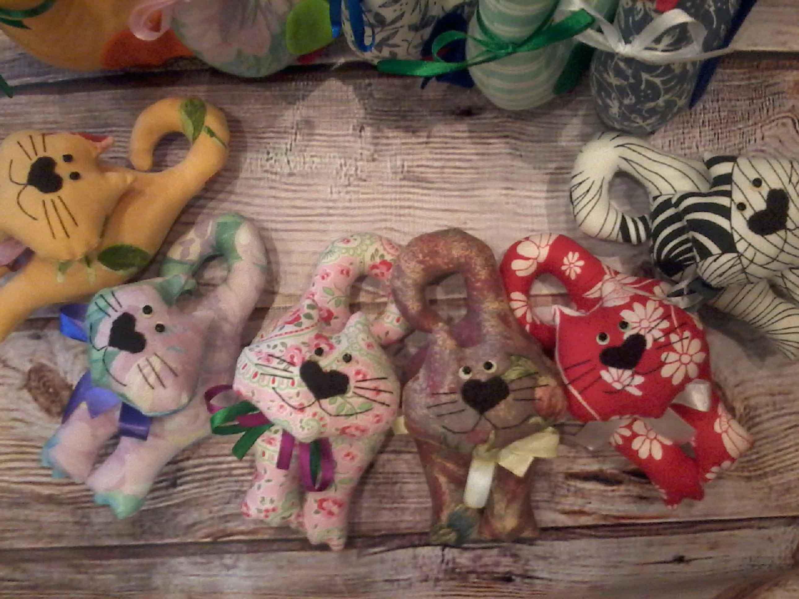 Игрушки текстильные ручной работы готовые и на заказ фото 6