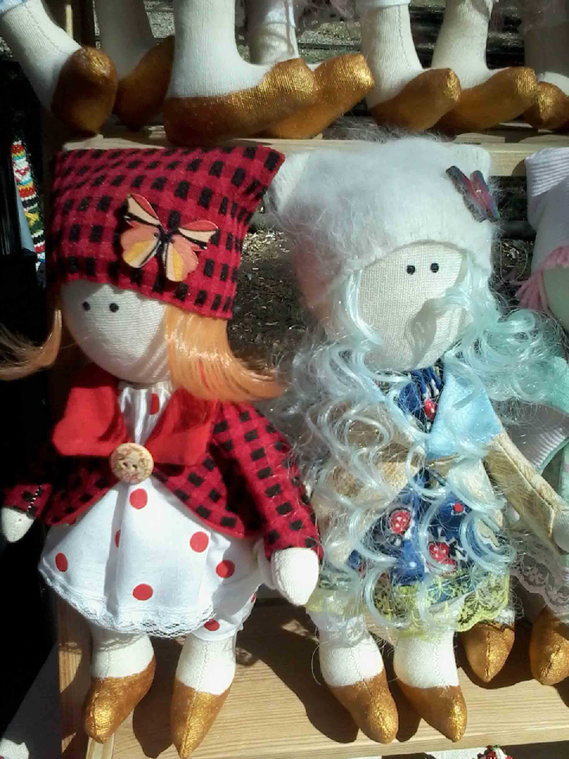 кукла текстильная  фото 1