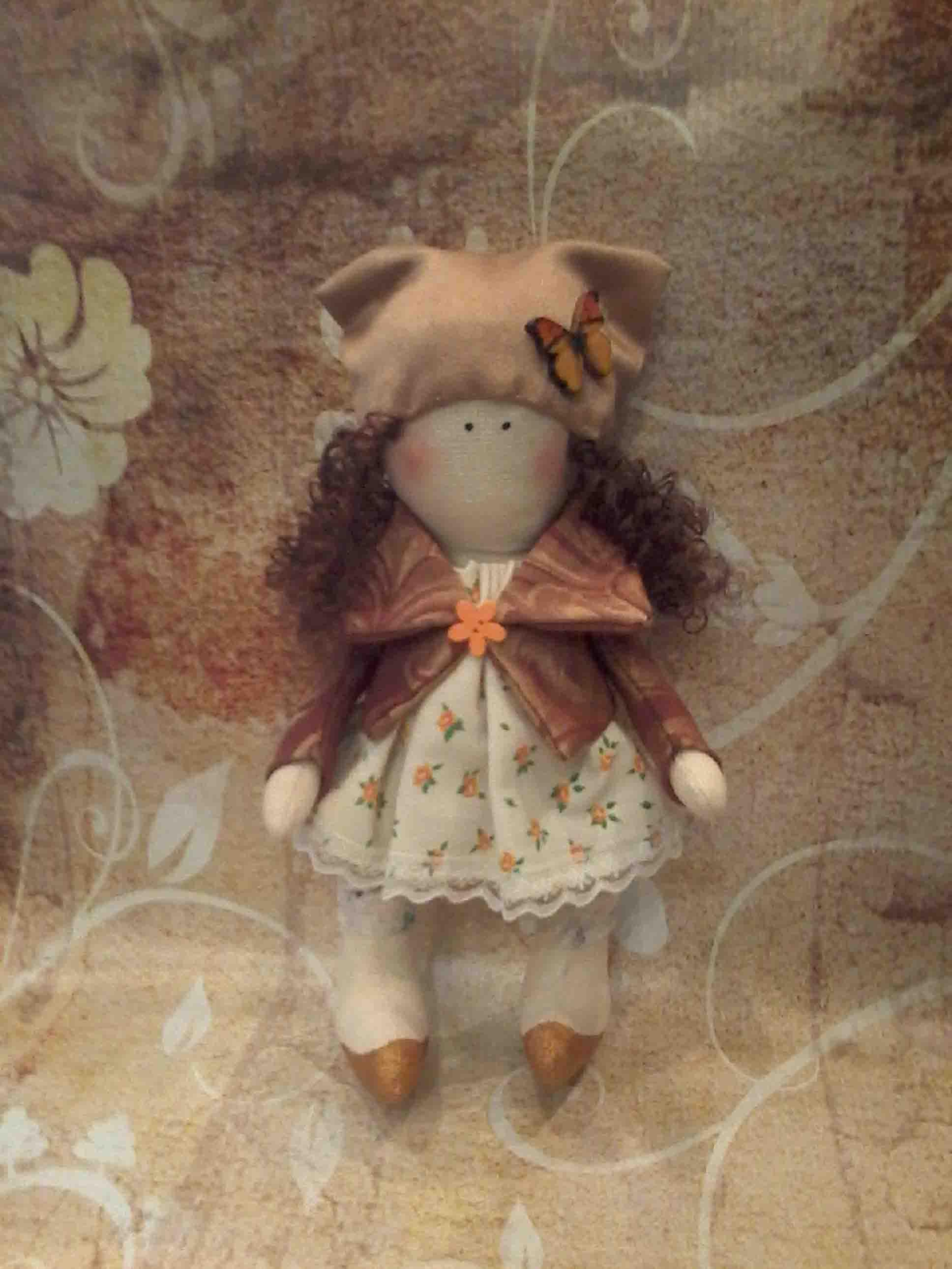 кукла текстильная  фото 2