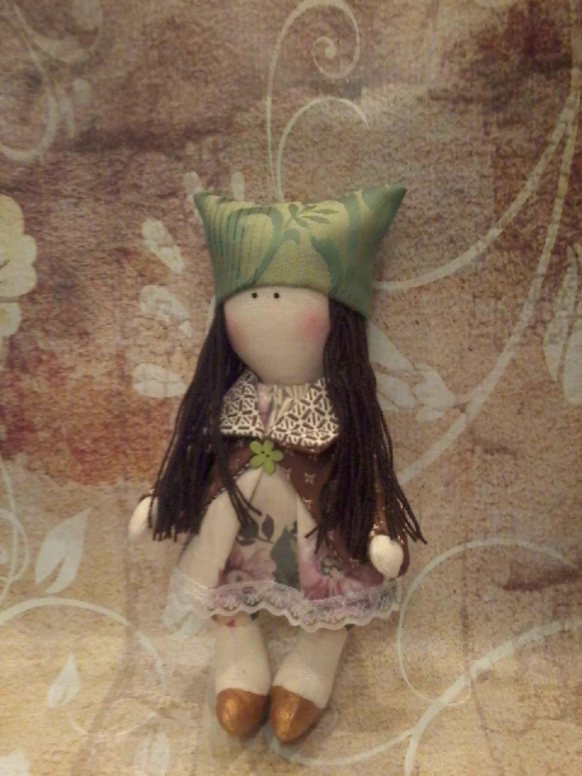 кукла текстильная  фото 3
