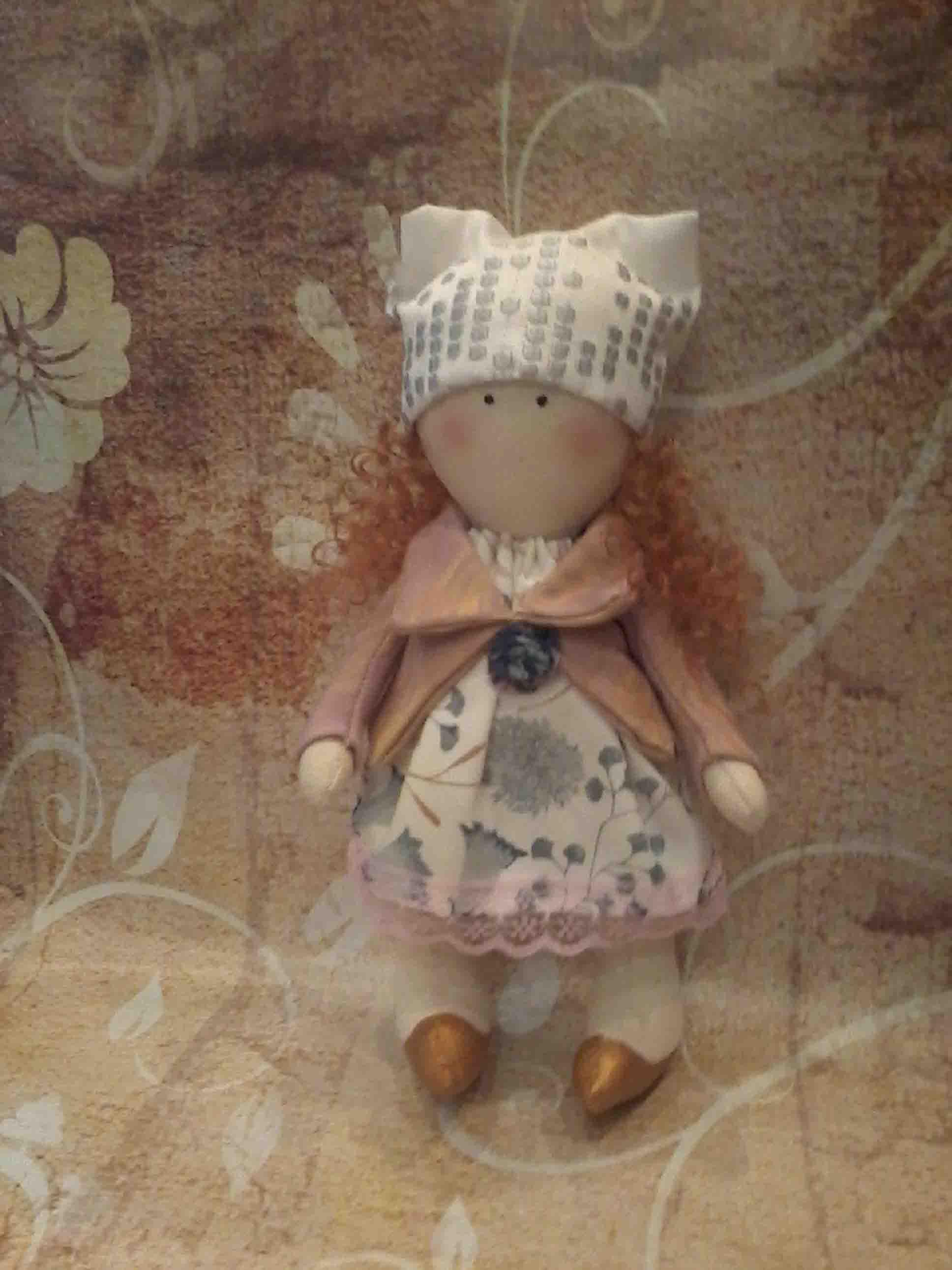 кукла текстильная  фото 4