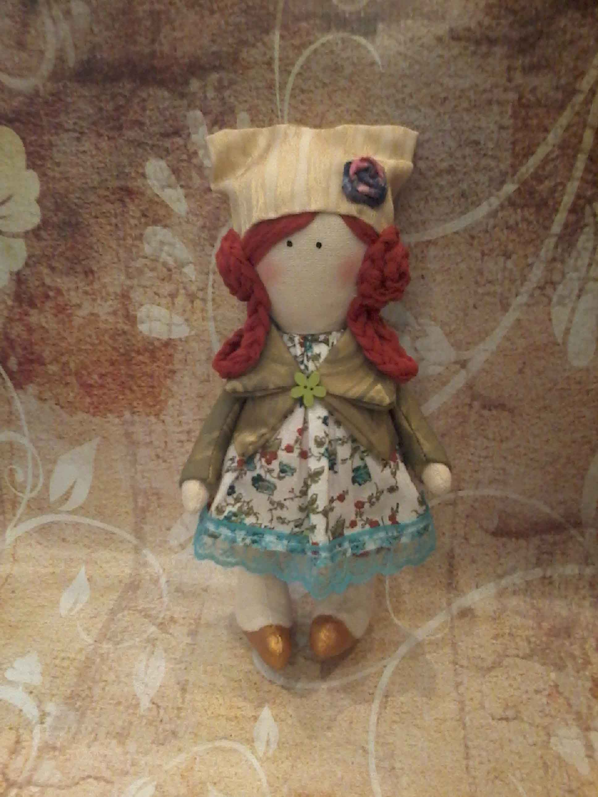 кукла текстильная  фото 5