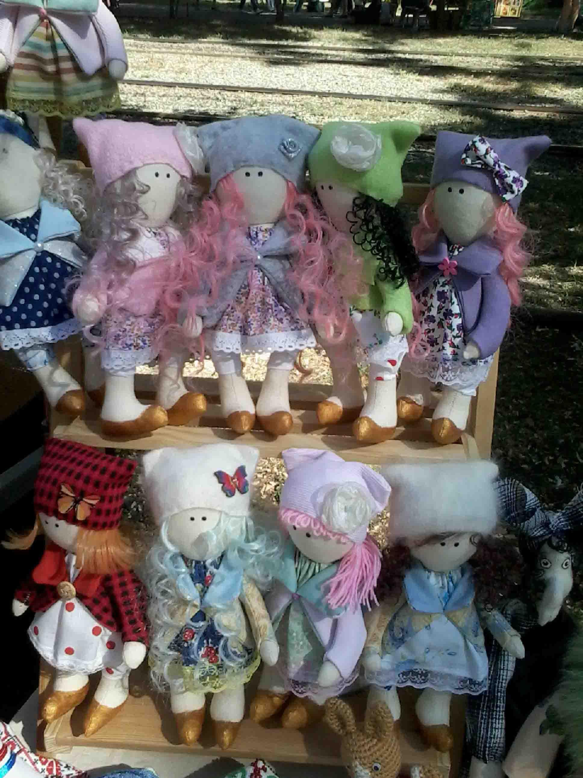 кукла текстильная  фото 6