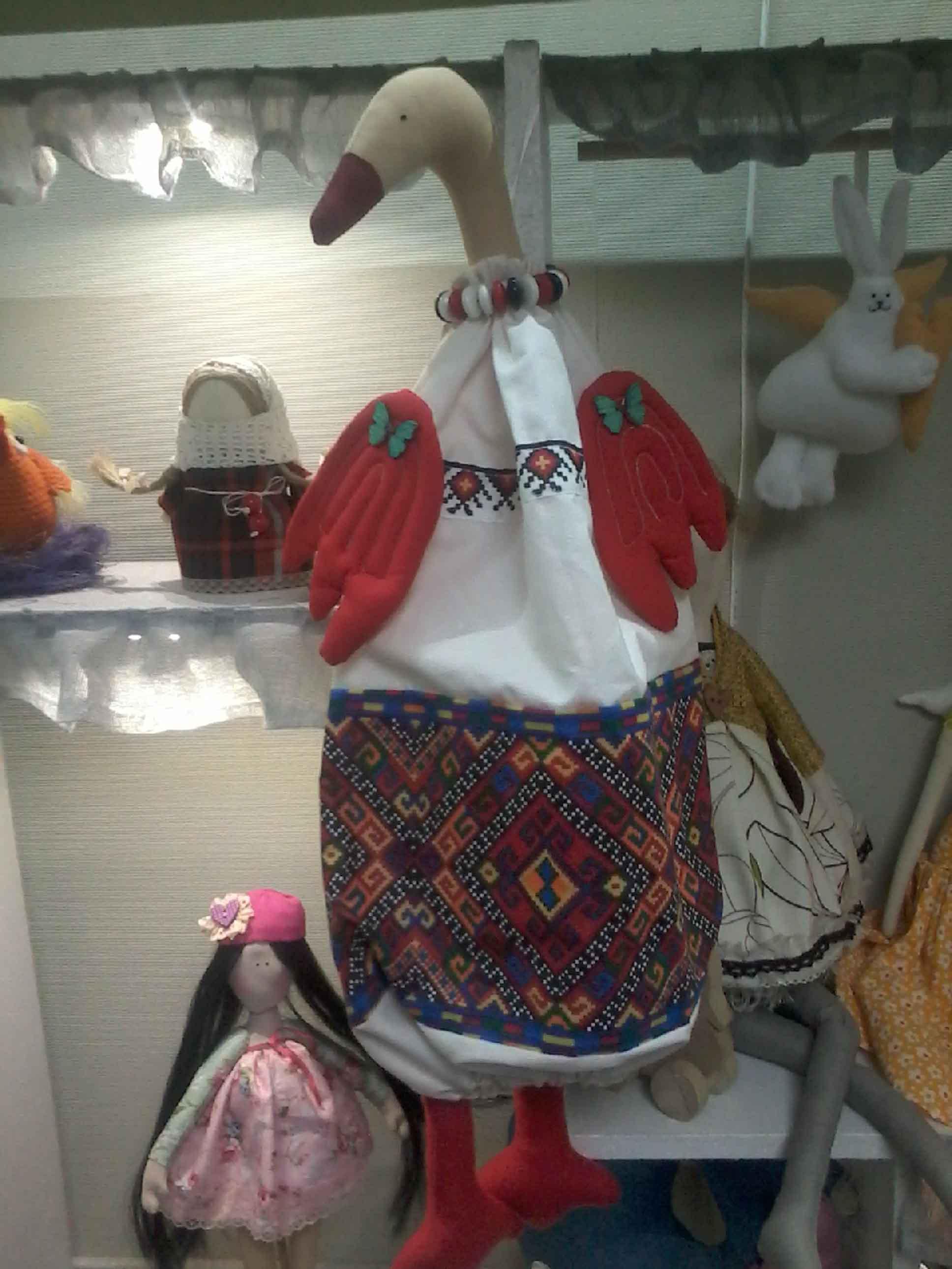 игрушка текстильная-пакетница фото 1
