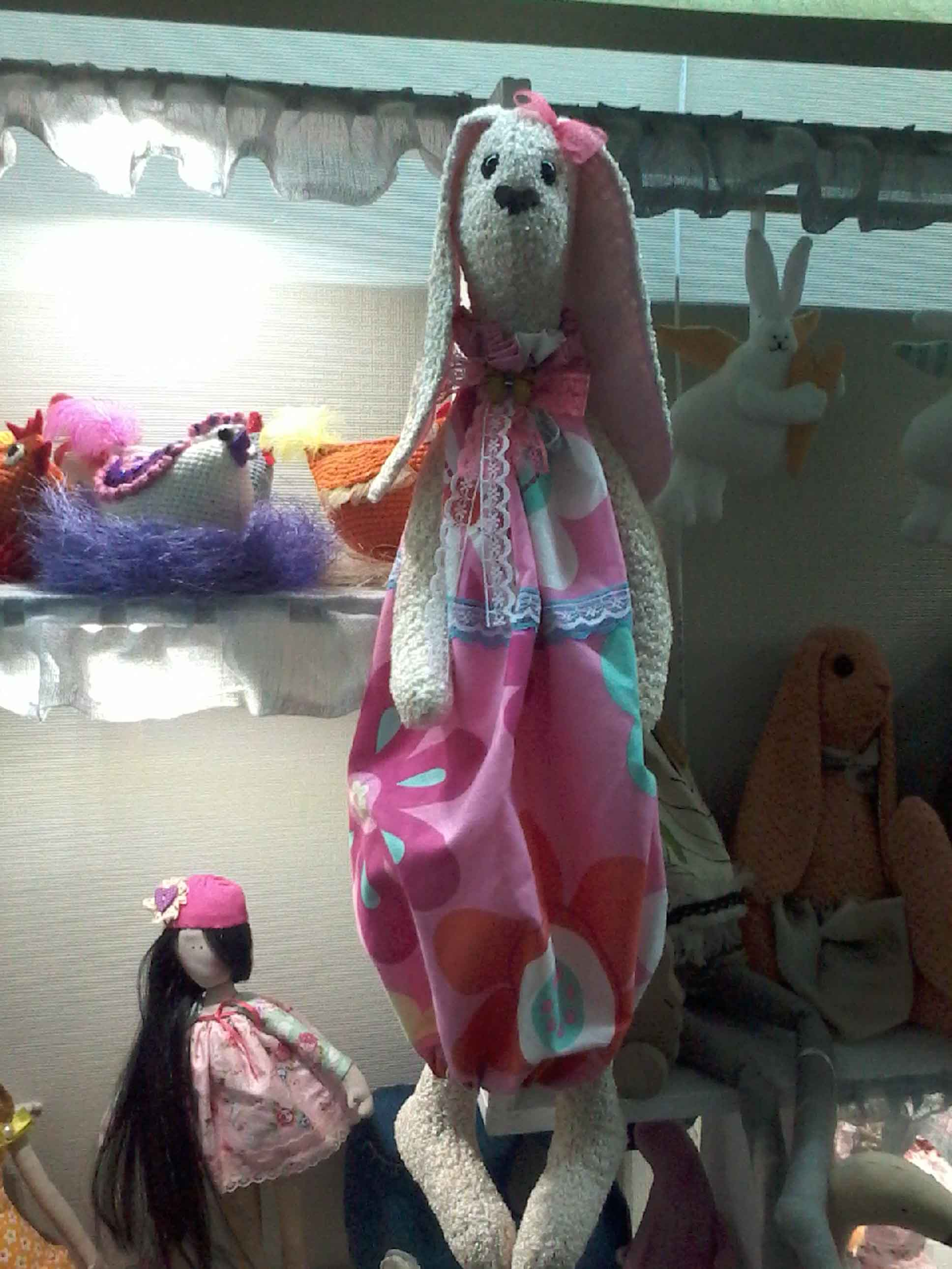 игрушка текстильная-пакетница фото 4