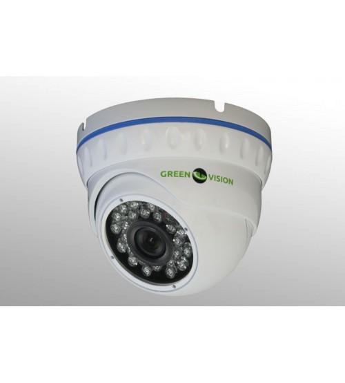 Комплект Відеоспостереження ІР 1.4 Мп Green Vision фото 1