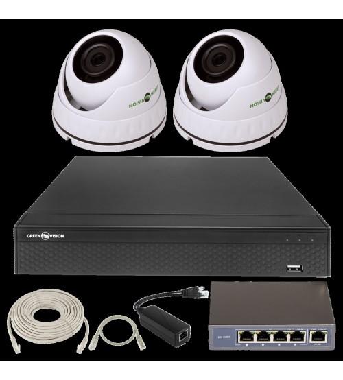 IP Комплект Відеоспостереження GV-ІР-К-L24/02 1080 P фото 1