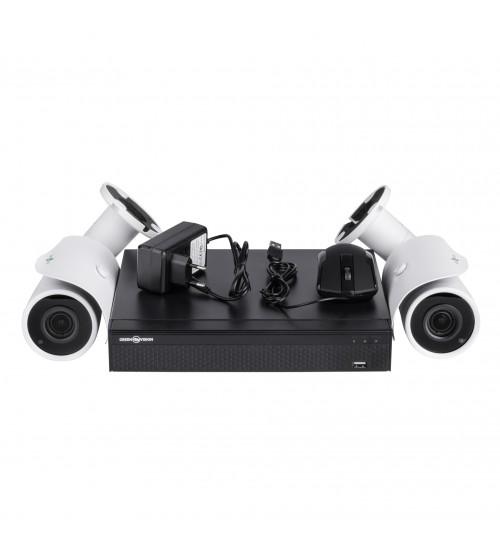 ІР Комплект Відеоспостереження GV-ІР-К-L18/02 1080 P фото 1