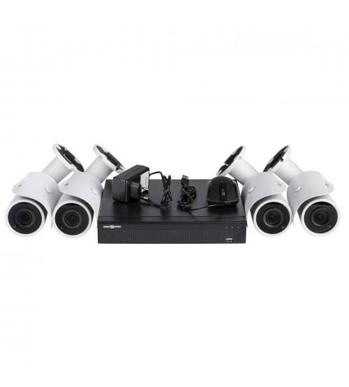 ІР Комплект Відеоспостереження GV-ІР-К-L19/04 1080 P фото 1