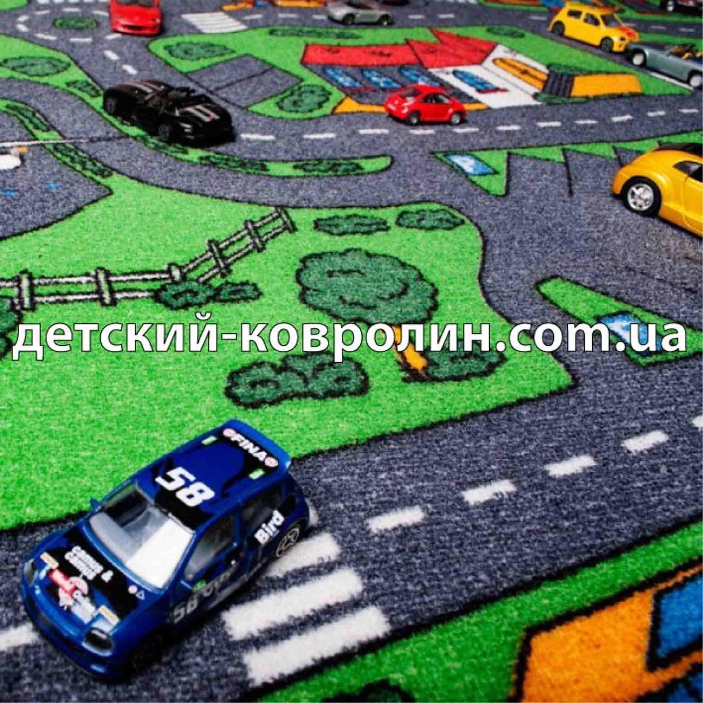Коврик с дорогами City Life.  фото 4
