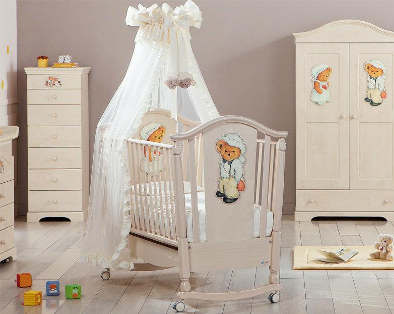 Итальянская мебель для детских комнат: кроватки, кровати, пеленальные  фото 7