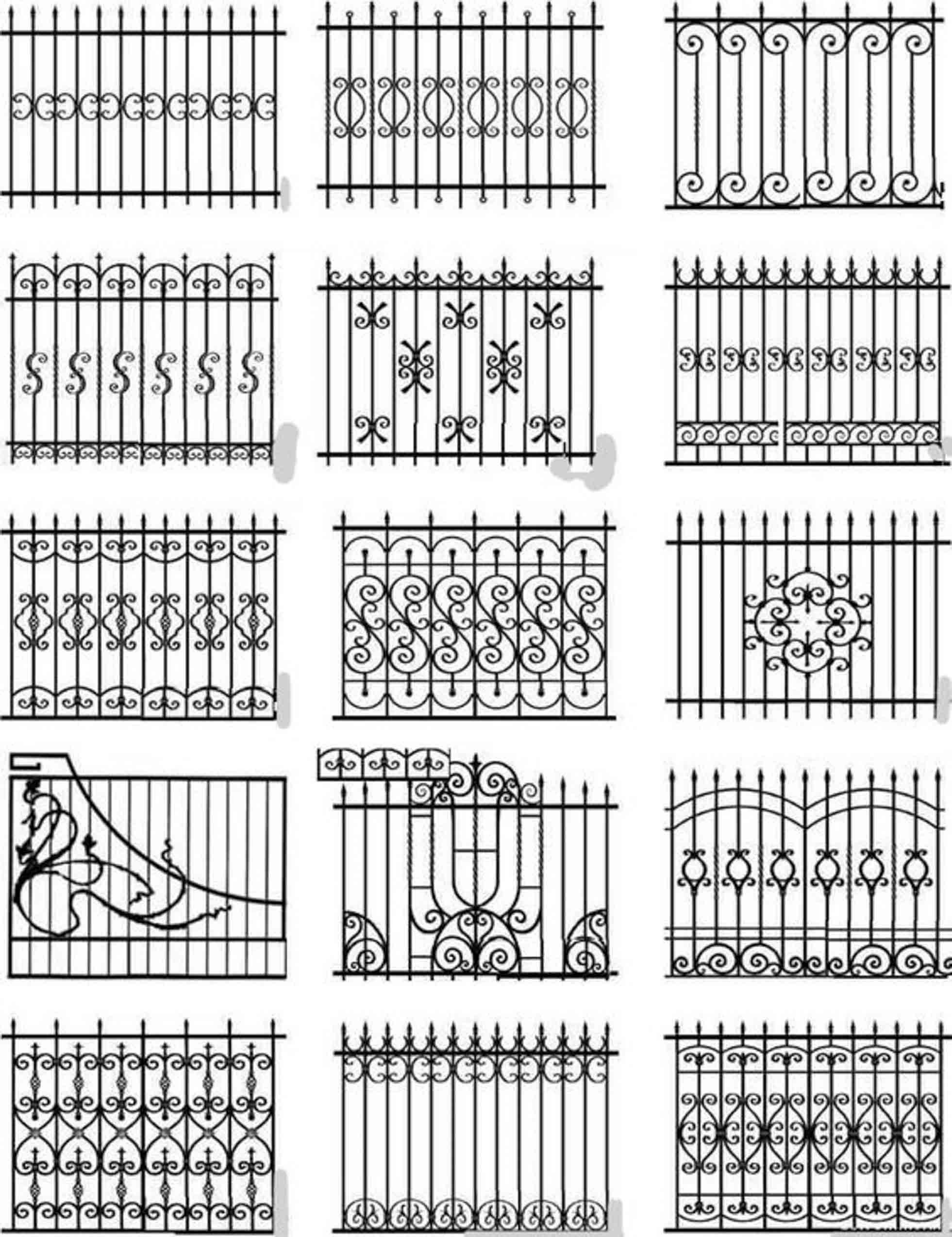 Заборы металлические, кованые, с профлиста, блок-хаус, решетчатые. фото 8