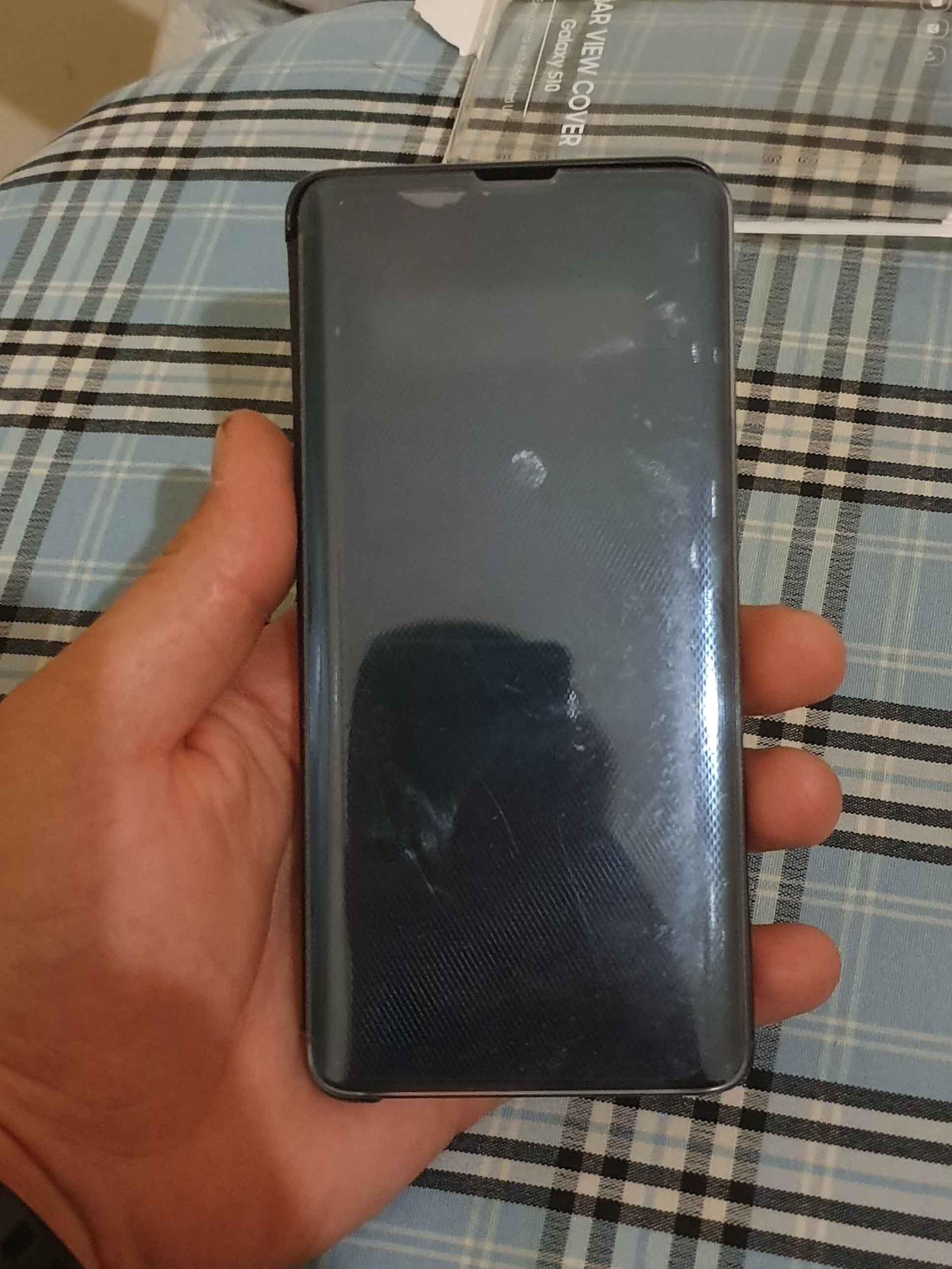 Аксессуар для смартфона Samsung Clear View Cover Black (EF-ZG973CBEGRU фото 3