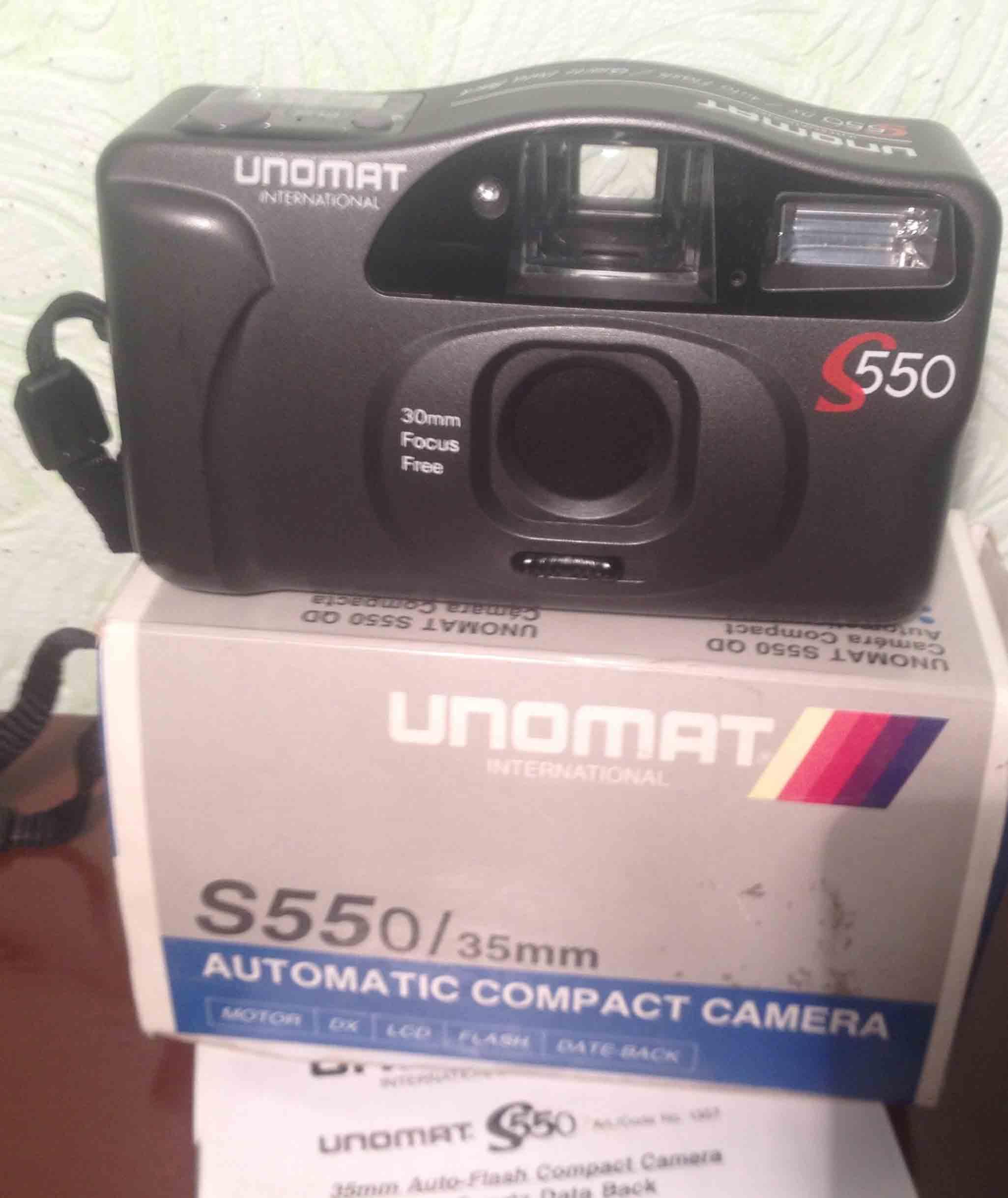 Фотоаппарат  UNOMAT  S 550 international фото 1