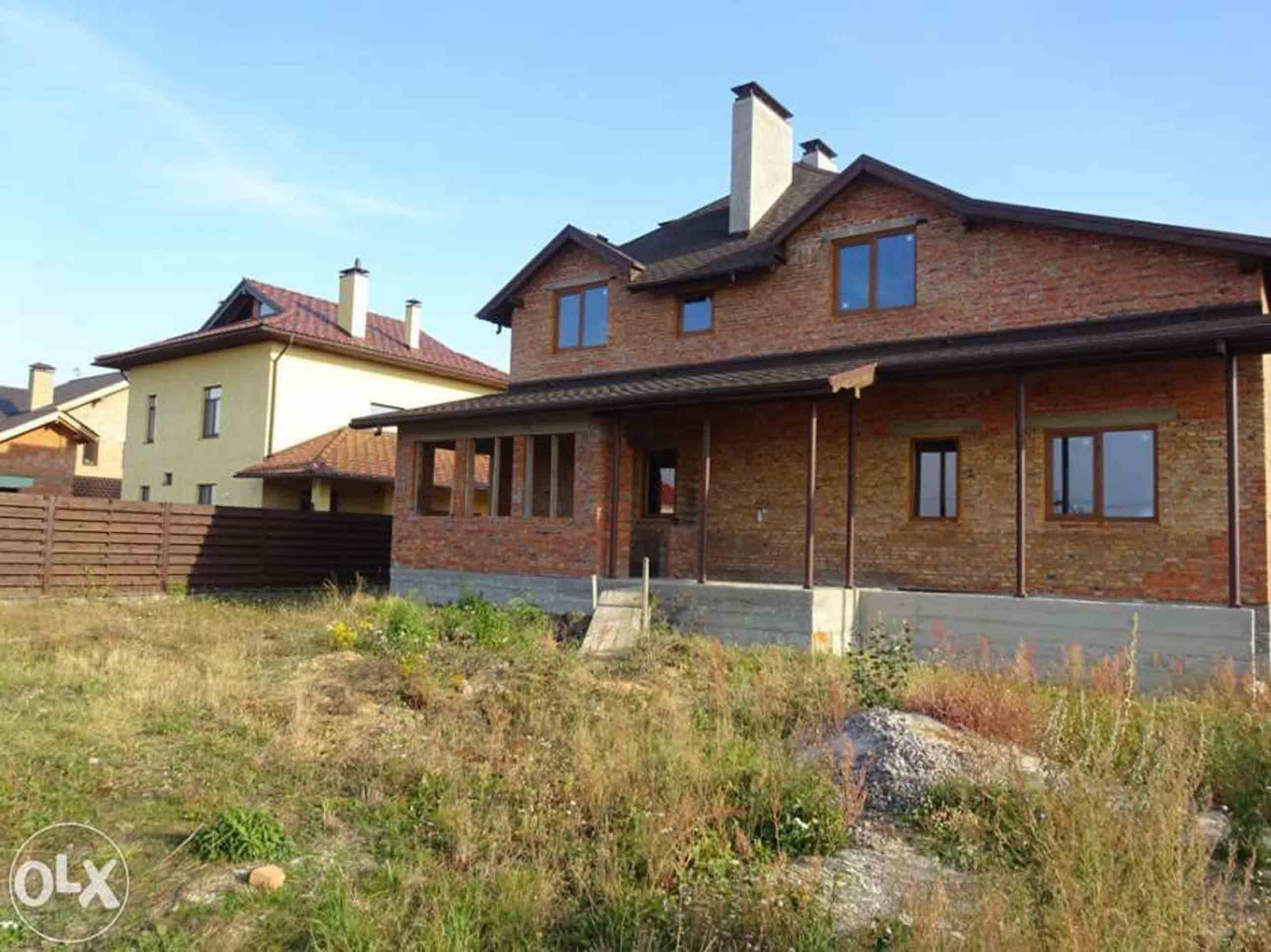 Петропавловская Борщаговка хороший новый кирпичный дом фото 2