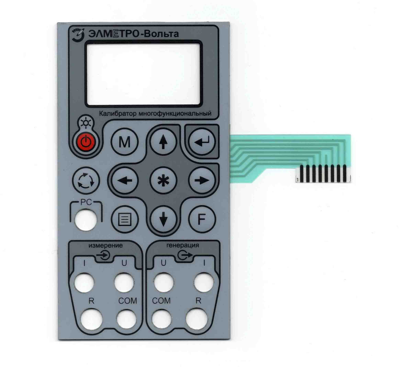 Изготовление (ремонт) мембранной, пленочной клавиатуры и приборных пан фото 2