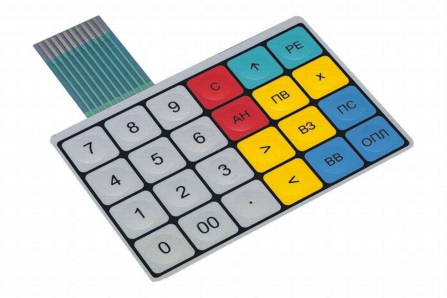 Изготовление (ремонт) мембранной, пленочной клавиатуры и приборных пан фото 3