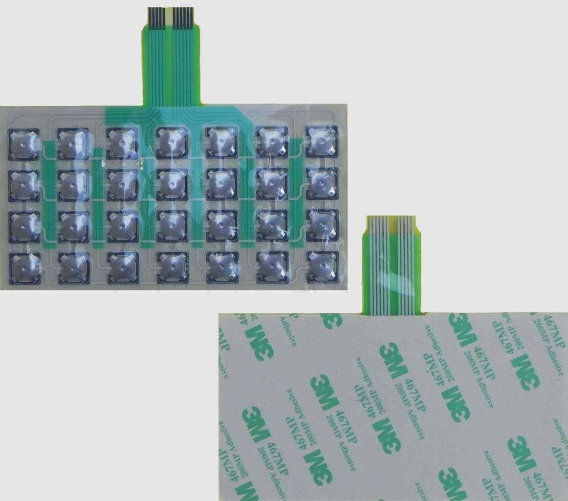Изготовление (ремонт) мембранной, пленочной клавиатуры и приборных пан фото 4