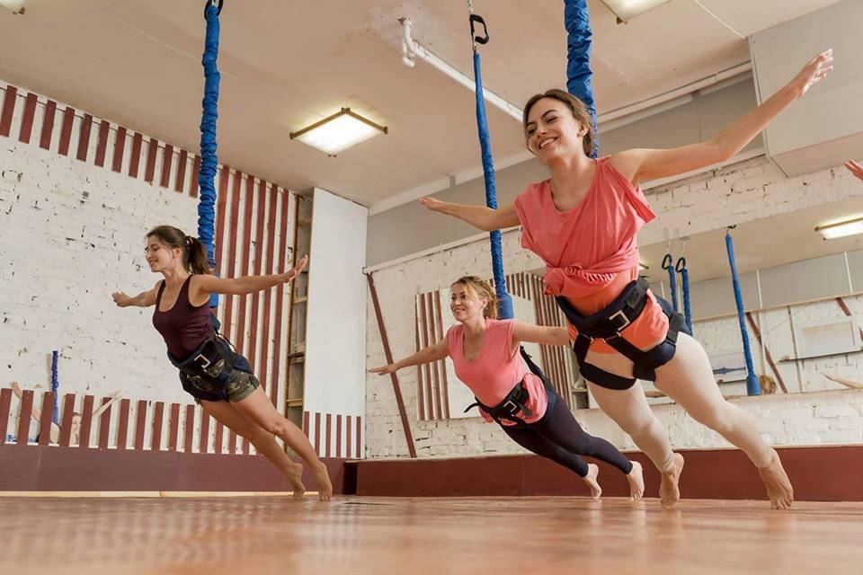ФлайФит (Bungee) = фитнес, полет и развлечение! Три в одном - Киев фото 1