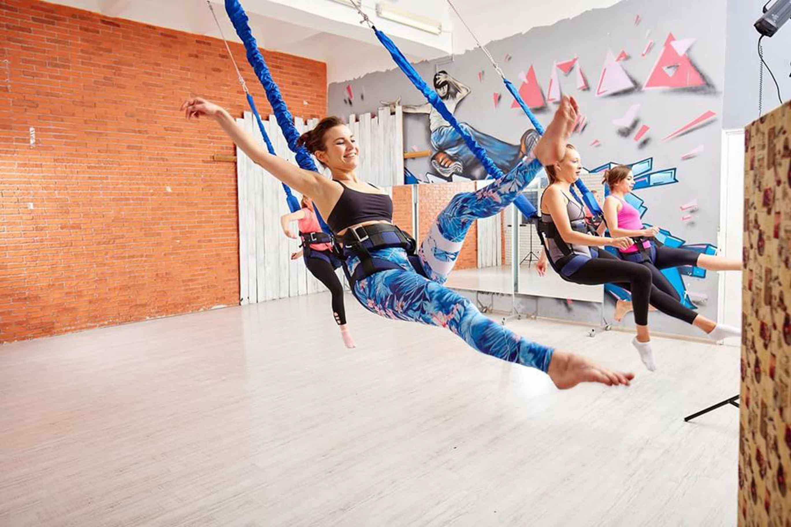 ФлайФит (Bungee) = фитнес, полет и развлечение! Три в одном - Киев фото 2