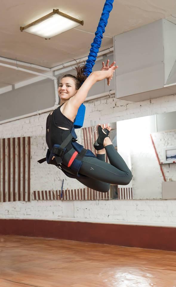 ФлайФит (Bungee) = фитнес, полет и развлечение! Три в одном - Киев фото 3