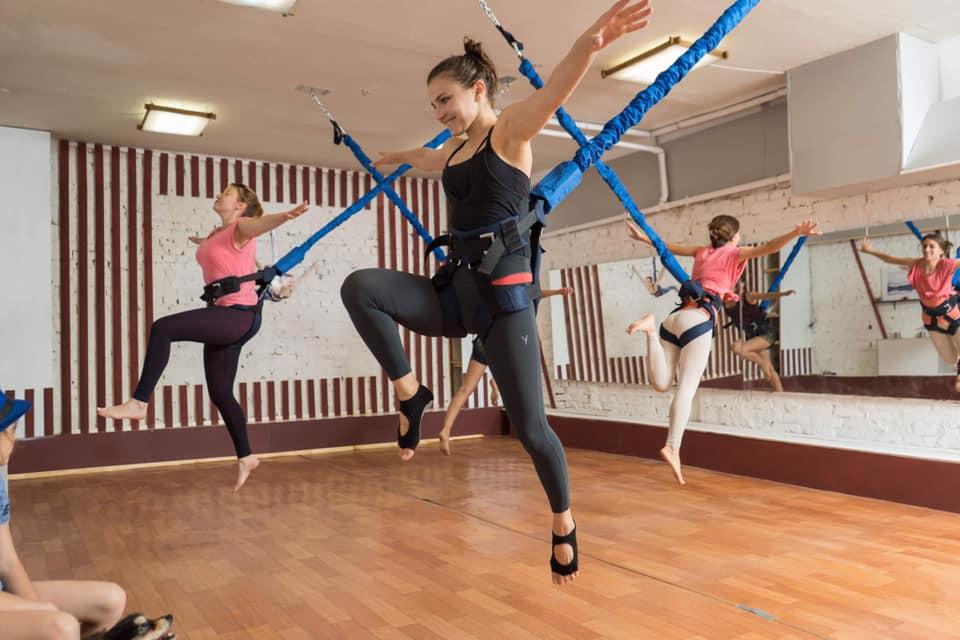 ФлайФит (Bungee) = фитнес, полет и развлечение! Три в одном - Киев фото 5