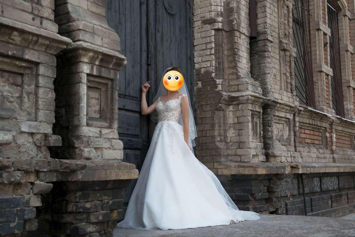 Свадебное платье Мирабель, Diamond White фото 3