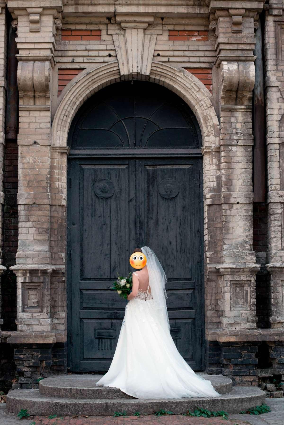 Свадебное платье Мирабель, Diamond White фото 4