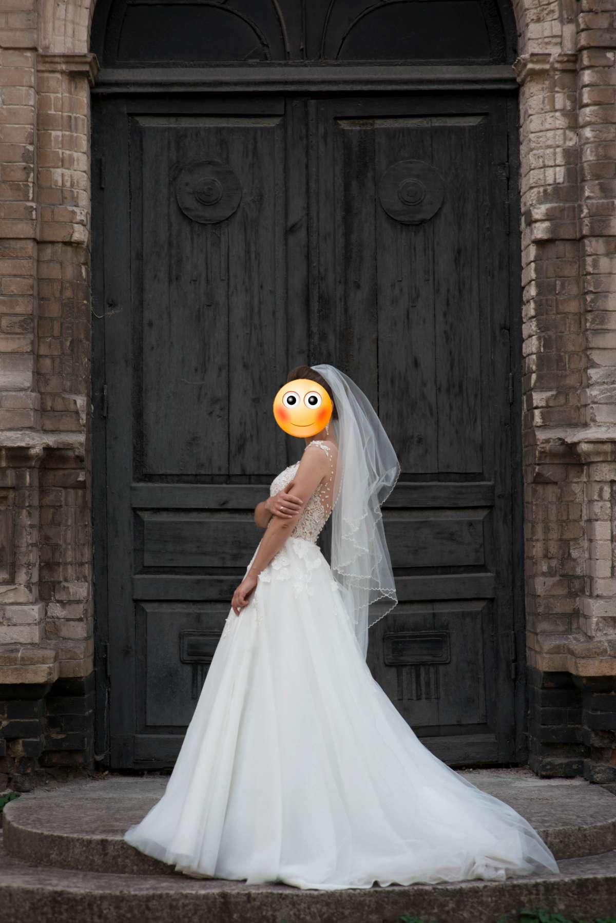 Свадебное платье Мирабель, Diamond White фото 1