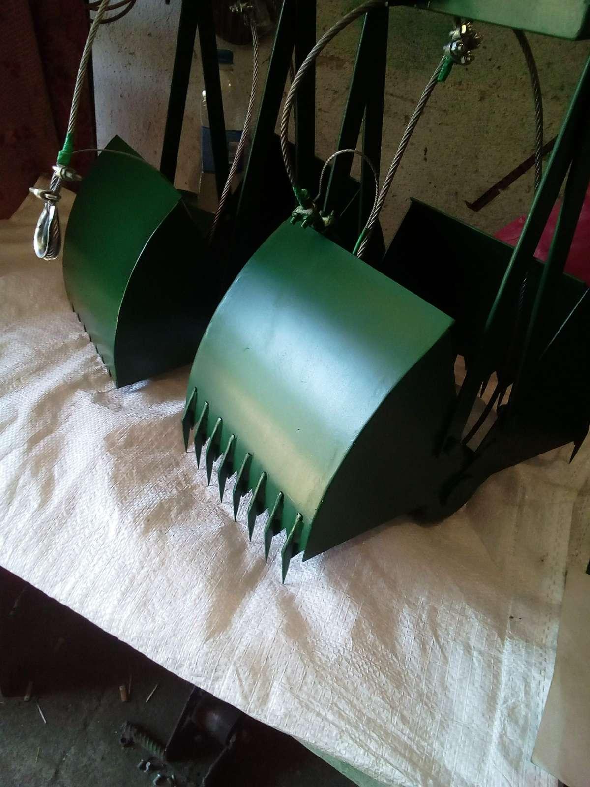 Ковш грейфер для чистки криниць фото 1