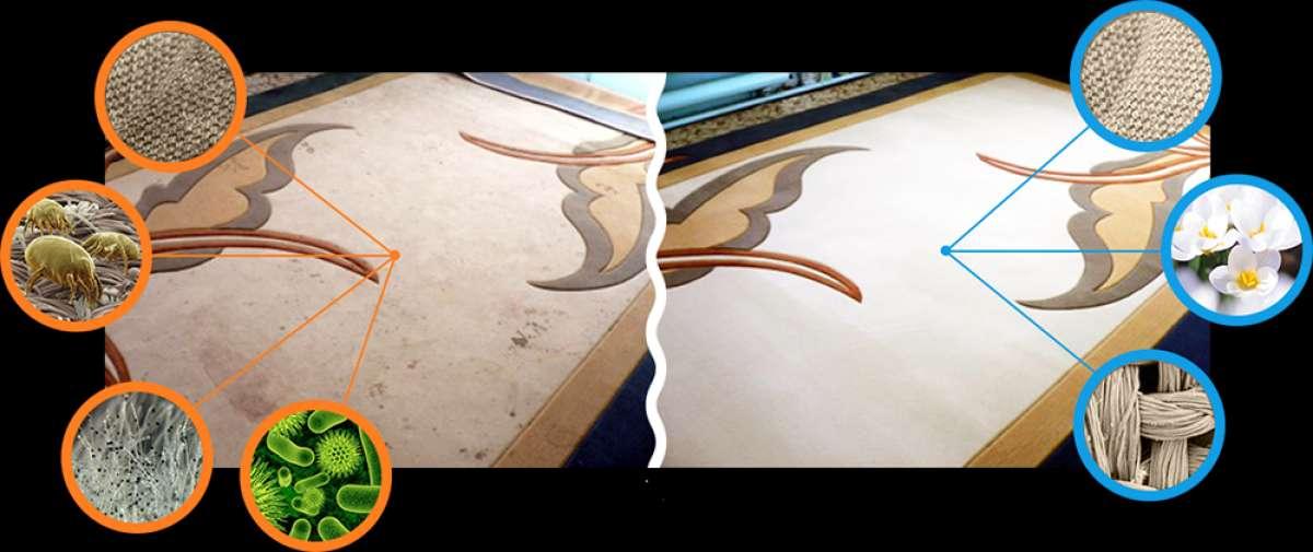 Стирка и Химчистка ковров с доставкой фото 1