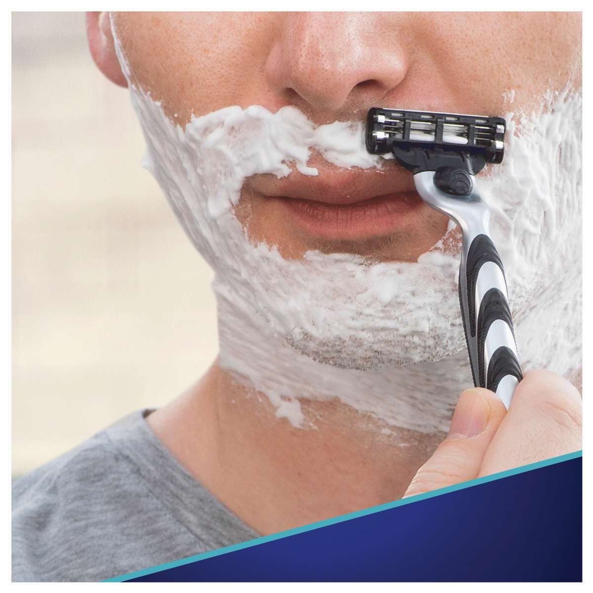 Сменные картриджи для бритья (Лезвия) Gillette Mach 3 8 шт. фото 3