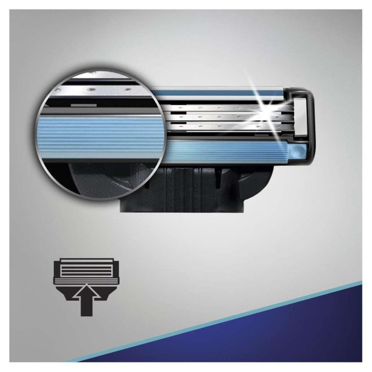 Сменные картриджи для бритья (Лезвия) Gillette Mach 3 8 шт. фото 6