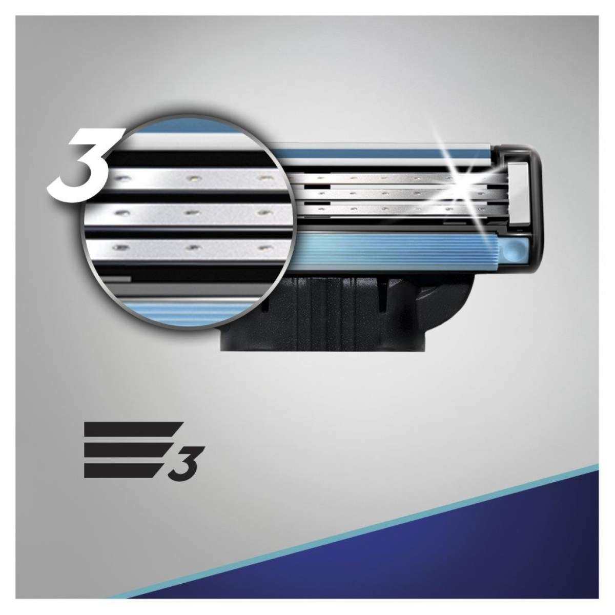 Сменные картриджи для бритья (Лезвия) Gillette Mach 3 8 шт. фото 7