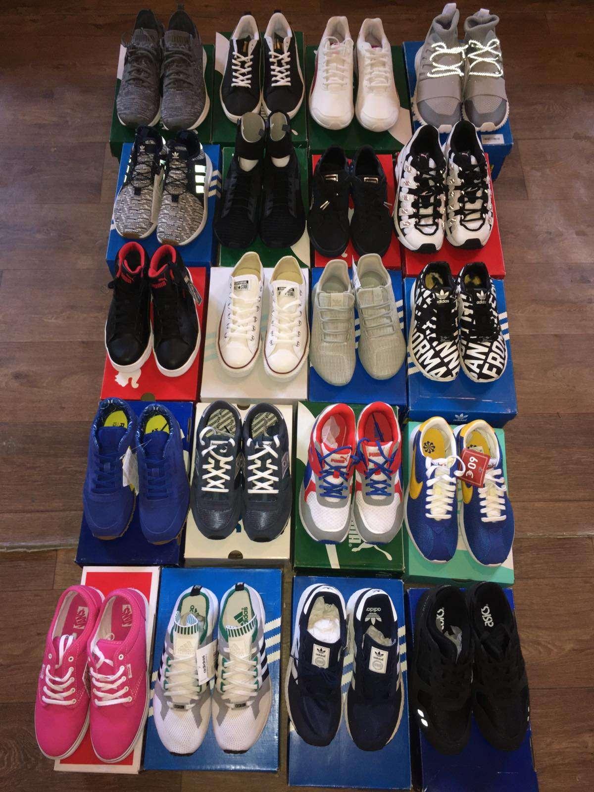 Сток спортивной обуви Nike, Puma, Vans, Adidas, Asics фото 2