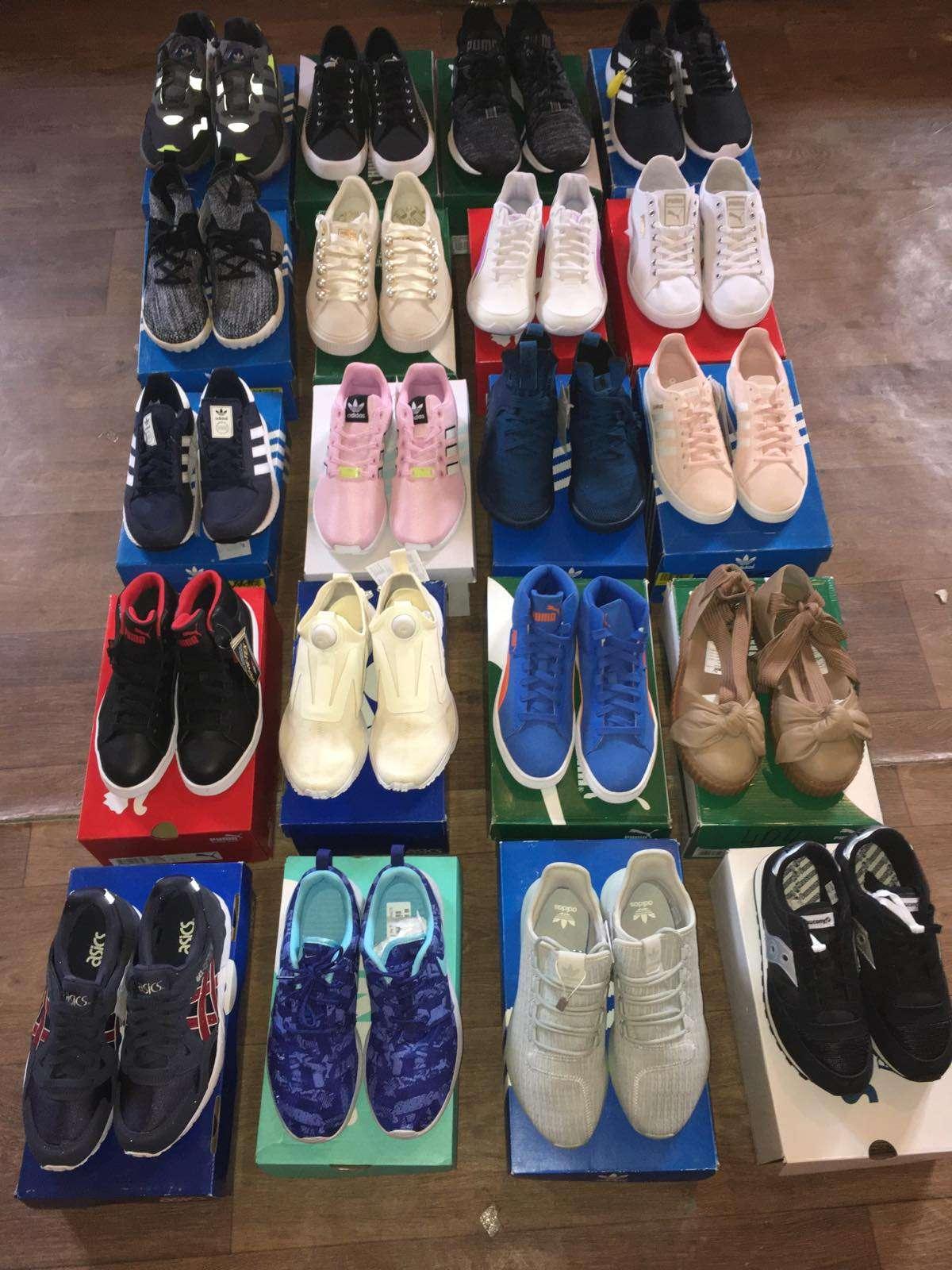Сток спортивной обуви Nike, Puma, Vans, Adidas, Asics фото 3