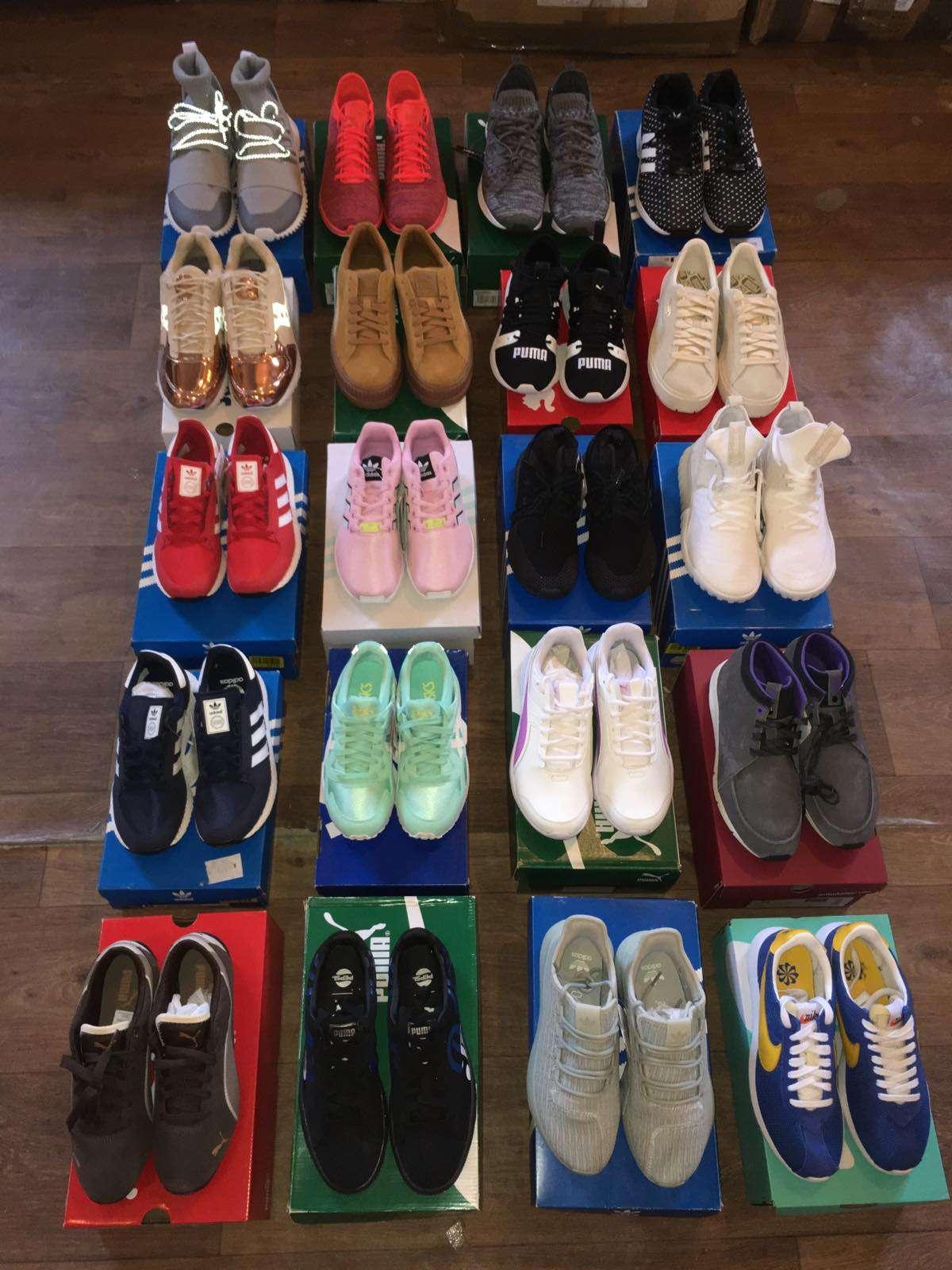 Сток спортивной обуви Nike, Puma, Vans, Adidas, Asics фото 4