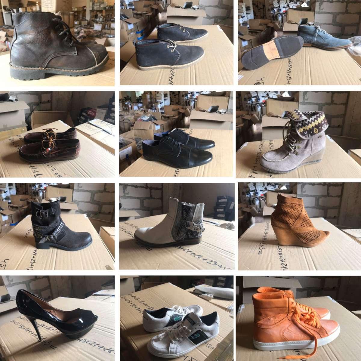 Стоковая обувь из Европы на вес есть размеры фото 1