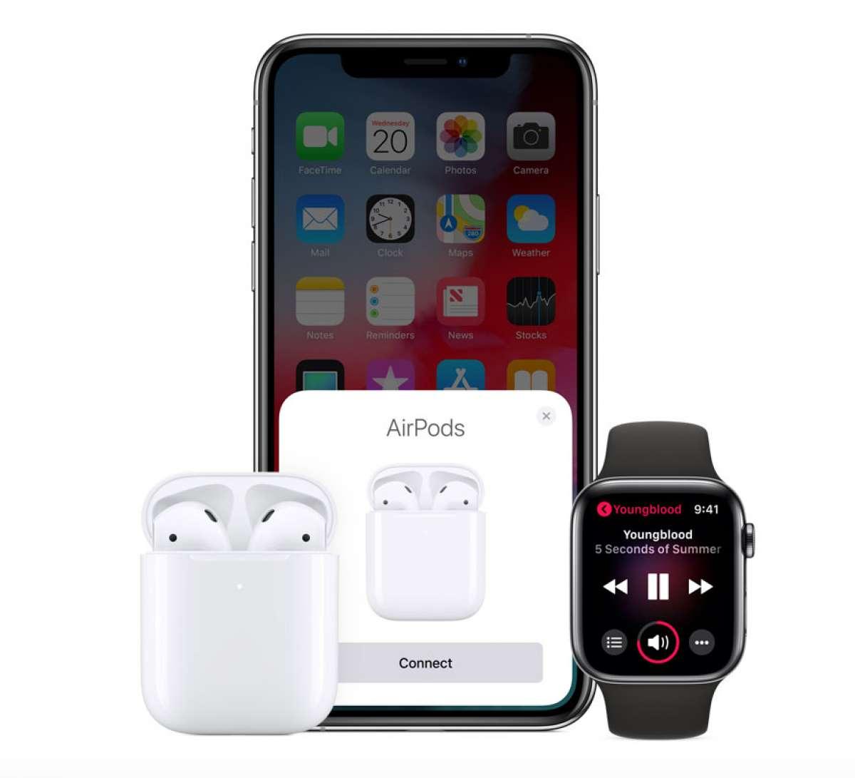 ⭐️ Навушники Apple AirPods 2 (MV7N2) ⭐️4 149 грн.⭐️ фото 5