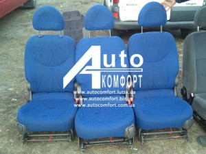 Автосидения б. у. Fiat Multipla (Фиат Мультипла) 3 шт. трансформеры