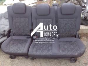 Оригинальные задние сидения в Fiat Doblo (Фиат Добло)