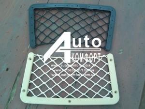 Сетка квадратная на спинку автомобильного сидения