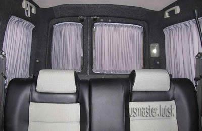 Автошторы. Шторки на микроавтобус Renault Kangoo  - Рено Канго