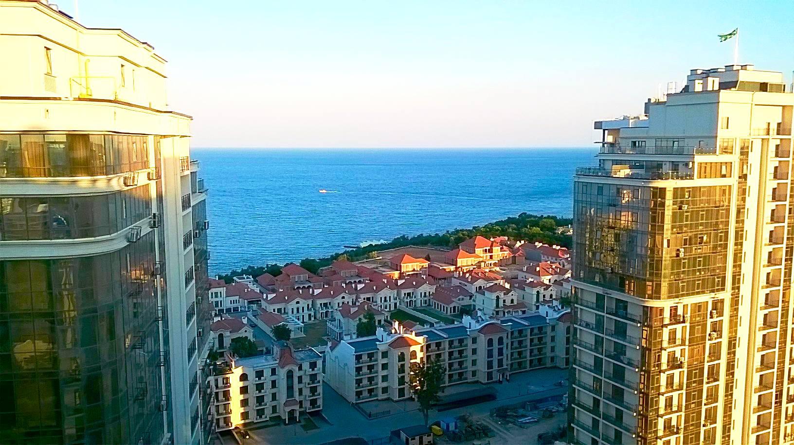 Шикарная квартира с панорамным видом на море. Одесса