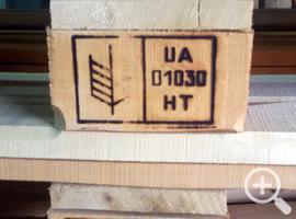 Термообработка деревянной тары, пиломатериала (IPPC)