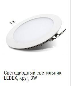 Светодиодные светильники - в интернет магазине Led-One