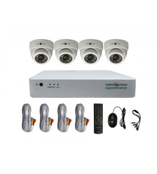 Комплект Відеоспостереження Green Vision GV-K-G02/04 720Р